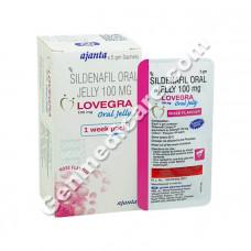 Lovegra Oral Jelly (Rose Flavour)