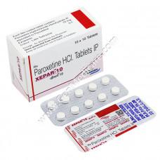 Paroxetine 10mg Tablet (Xepar)