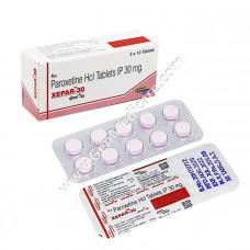 Paroxetine 30mg Tablet (Xepar)