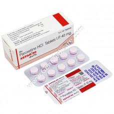 Paroxetine 40mg Tablet (Xepar)
