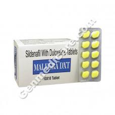 Malegra DXT 130 mg (Sildenafil Citrate 100mg and Duloxetine 30 mg)