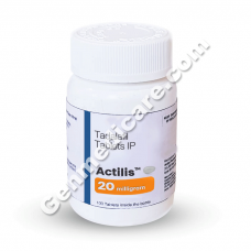 Tadalafil 20mg, Actilis 20, Generic Cialis Reviews, Price, Dosage