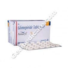 Amaryl 3 mg Tablet