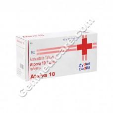 Atorva 10 mg Tablet, Cholesterol Reducer