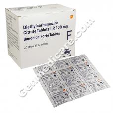 Banocide Forte 100mg Tablet