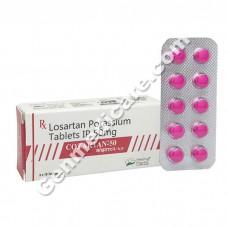 Cozartan 50 mg Tablet