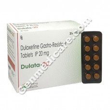 Dulata 20 mg, Duloxetine 20 mg, Duloxetine Reviews