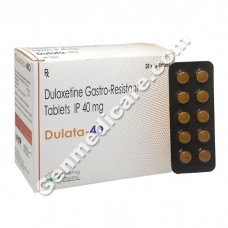 Dulata 40 mg, Duloxetine 40 mg, Duloxetine for Depression, How does Duloxetine work