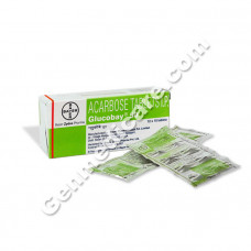 Glucobay M 50 mg Tablet