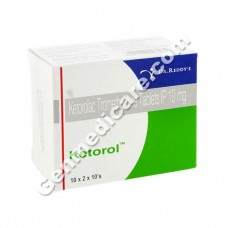 Ketorol 10 mg Tablet, Pain Relief & Fever