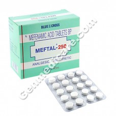 Meftal 250 mg Tablet, Pain Relief & Fever