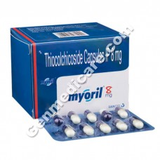 Myoril 8 mg Capsule, Ortho Care