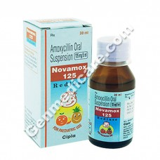 Novamox 125 mg Dry Syrup, Antibiotics