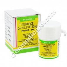 Posid 50 mg Capsule, Anti Cancer