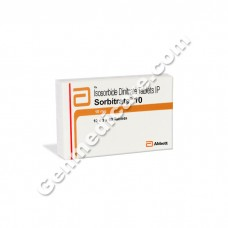 Sorbitrate 10 mg Tablet, Anti Anginal