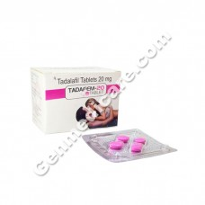 Tadafem 20 mg Tablet, The Weekend Pill (Tadalafil)