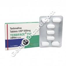 Terbinafine 500 (Terbiface)