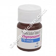 Thyronorm 75 mcg Tablet