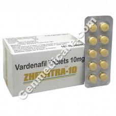 Zhewitra 10 mg, Vardenafil 10 mg, Generic Vardenafil