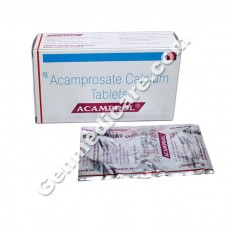 Acamprol 333 mg Tablet, Alcohol & Drug Treatment