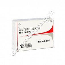 Aciloc 300 mg Tablet, Acid Reducers