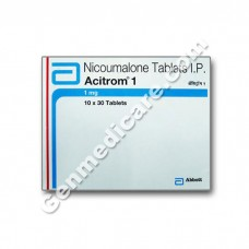 Acitrom 1 mg Tablet, Blood Disorders