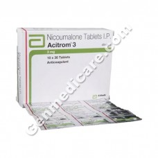 Acitrom 3 mg Tablet, Blood Disorders