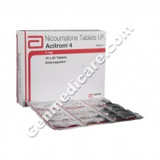 Acitrom 4 mg Tablet, Blood Disorders