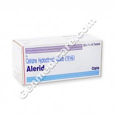 Alerid 10 mg Tablet, Allergy