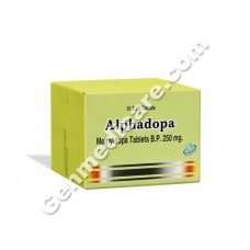 Alphadopa 250 mg Tablet, Heart & Blood Pressure