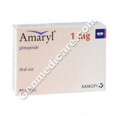 Amaryl 1 mg Tablet, Diabetes