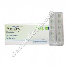 Amaryl 2 mg Tablet, Diabetes