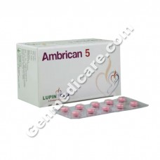 Ambrican 5 mg Tablet, Heart & Blood Pressure