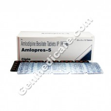 Amlopres 5 mg Tablet