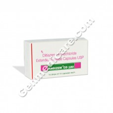Angizem CD 180 mg Capsule, Anti Anginal