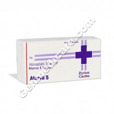 Atorva 5 mg Tablet, Cholesterol Reducer