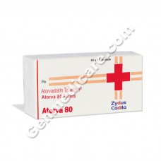 Atorva 80 mg Tablet