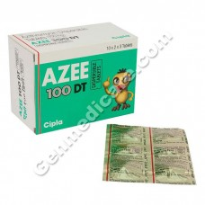 Azee 100 mg Tablet DT