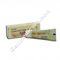 Aziderm 10 Cream, Acne