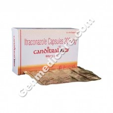 Canditral 200 mg Capsule, Anti Fungal