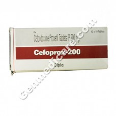 Cefoprox 200 mg Tablet, Antibiotics