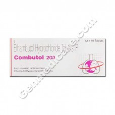 Combutol 200 mg Tablet
