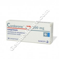 Cordarone 200 mg Tablet