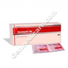 Cynomycin 50 mg Capsule