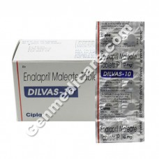 Dilvas 10 mg Tablet