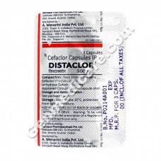 Distaclo 500 mg Capsule, Antibiotics