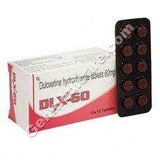 DLX 60 mg Tablet