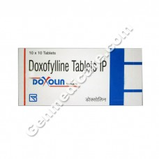 Doxolin 400 mg Tablet, Asthma