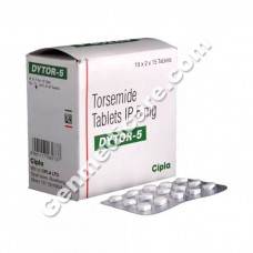 Dytor 5 mg Tablet, Oedema Care