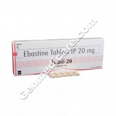 Ebast 20 mg Tablet